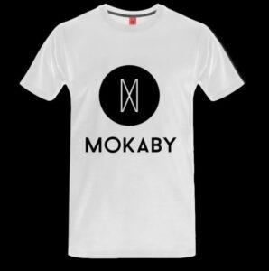 Shirt mit Mokaby Brust Logo